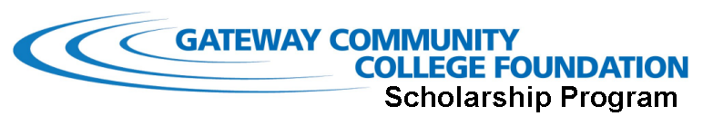 Logo for Gateway CC Foundation Scholarships