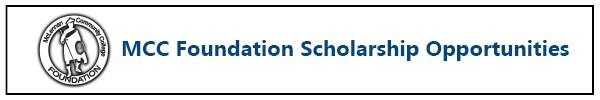 Logo for McLennan Community College Scholarships