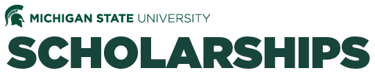 Logo for MSU Scholarships