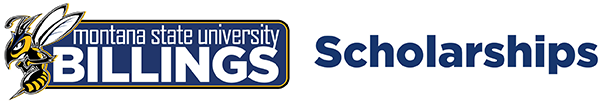 Logo for Montana State University Billings Scholarships