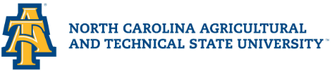Logo for North Carolina A&T State University Scholarships