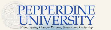 Logo for Pepperdine University Scholarships