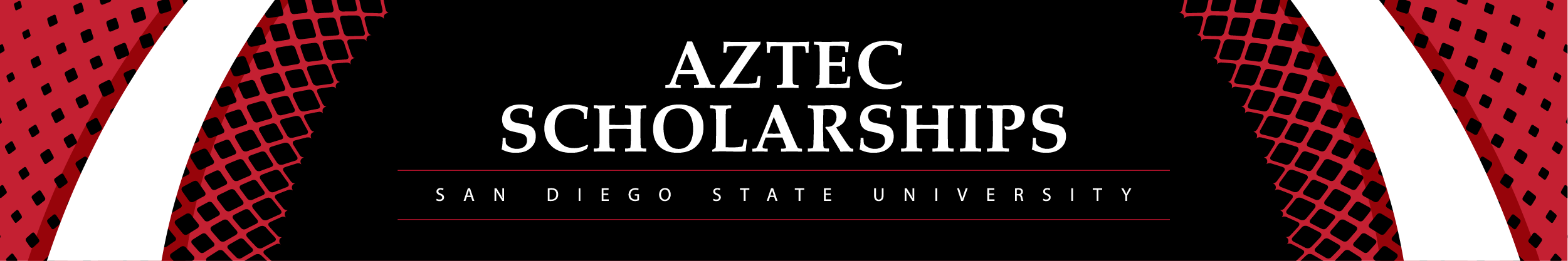Logo for San Diego State University Aztec Scholarship Portal