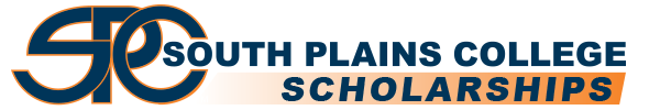 Logo for South Plains College Scholarships