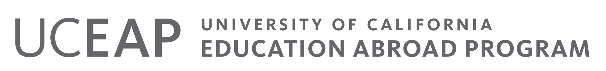 Logo for University of California Education Abroad Program