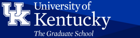 Logo for University of Kentucky Graduate School Fellowship Portal