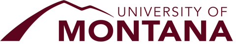 Logo for The University of Montana Scholarships