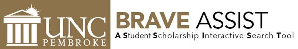 Logo for University of North Carolina at Pembroke Brave ASSIST