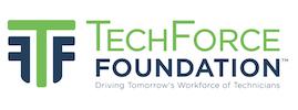 Logo for TechForce Foundation Scholarships & Grants