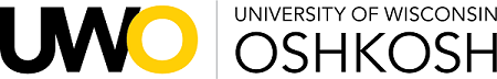 Logo for University of Wisconsin Oshkosh Scholarships