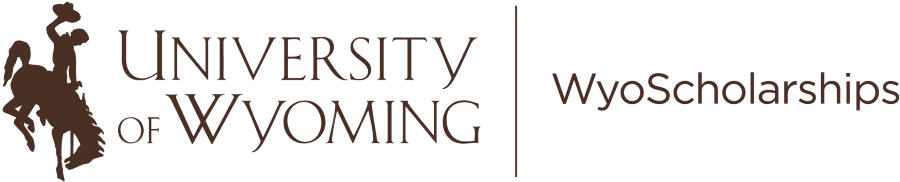 Logo for Scholarships - University of Wyoming