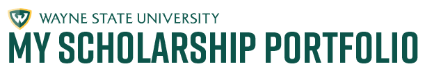Logo for Wayne State University Scholarships