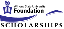 Logo for Winona State University Scholarships