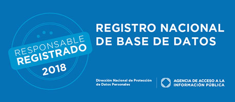 Registro Nacional de Bases de Datos - Responsable Registrado