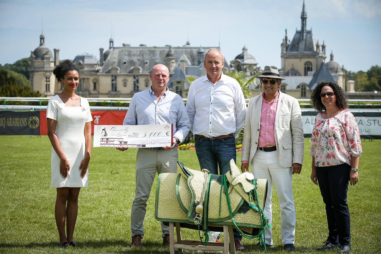 Best Breeder Award for Knocke Arabians
