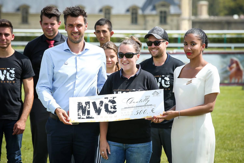 Most Valuable Groom Award (MVG) for Marine Dano