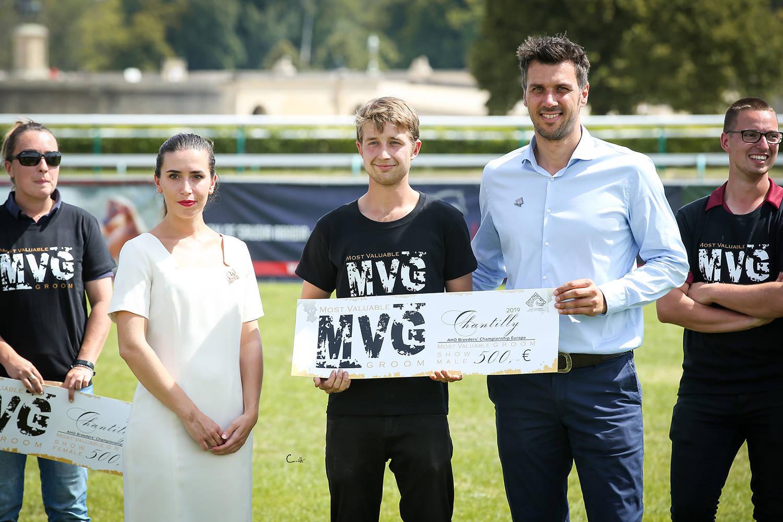 Most Valuable Groom Award (MVG) for Jesse Swaenepoel