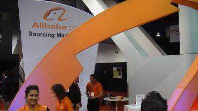 Alibaba Stock Aiming For The Clouds