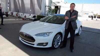 Tesla Inc, BlackBerry Ltd And Apple Inc - Top Stock Trading Ideas For Today