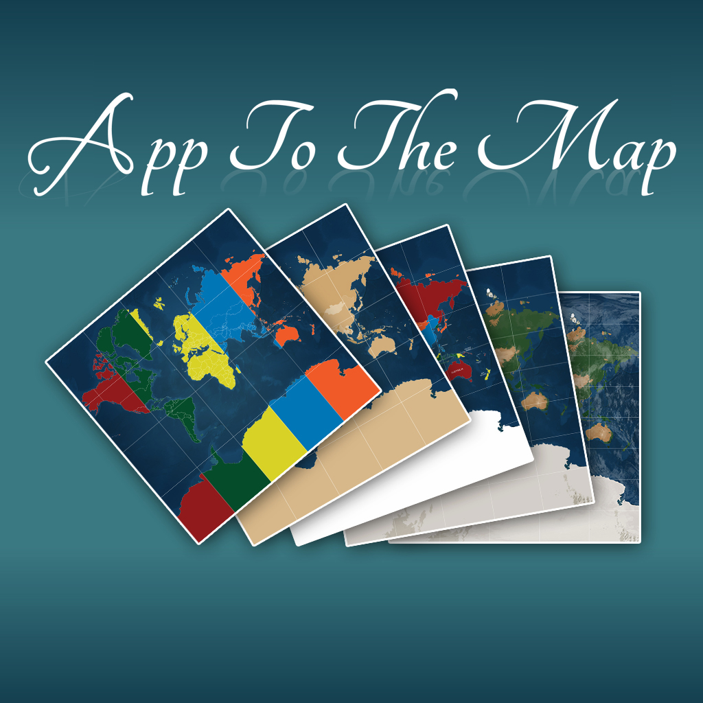 App To The Map Icon
