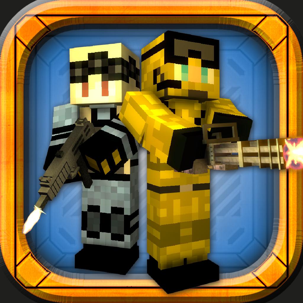 Block Force - Pixel Style Gun Shooter Game