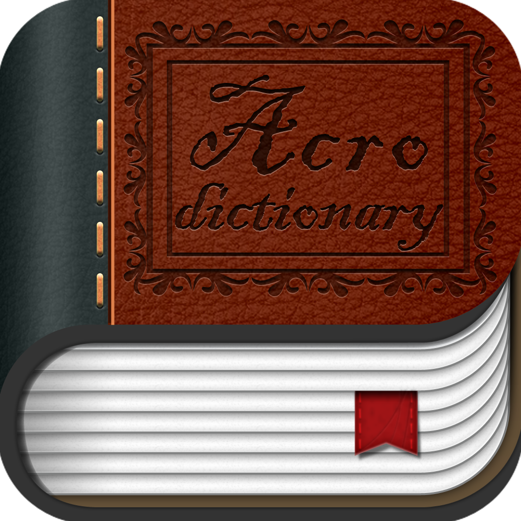 Acro-Dict Icon