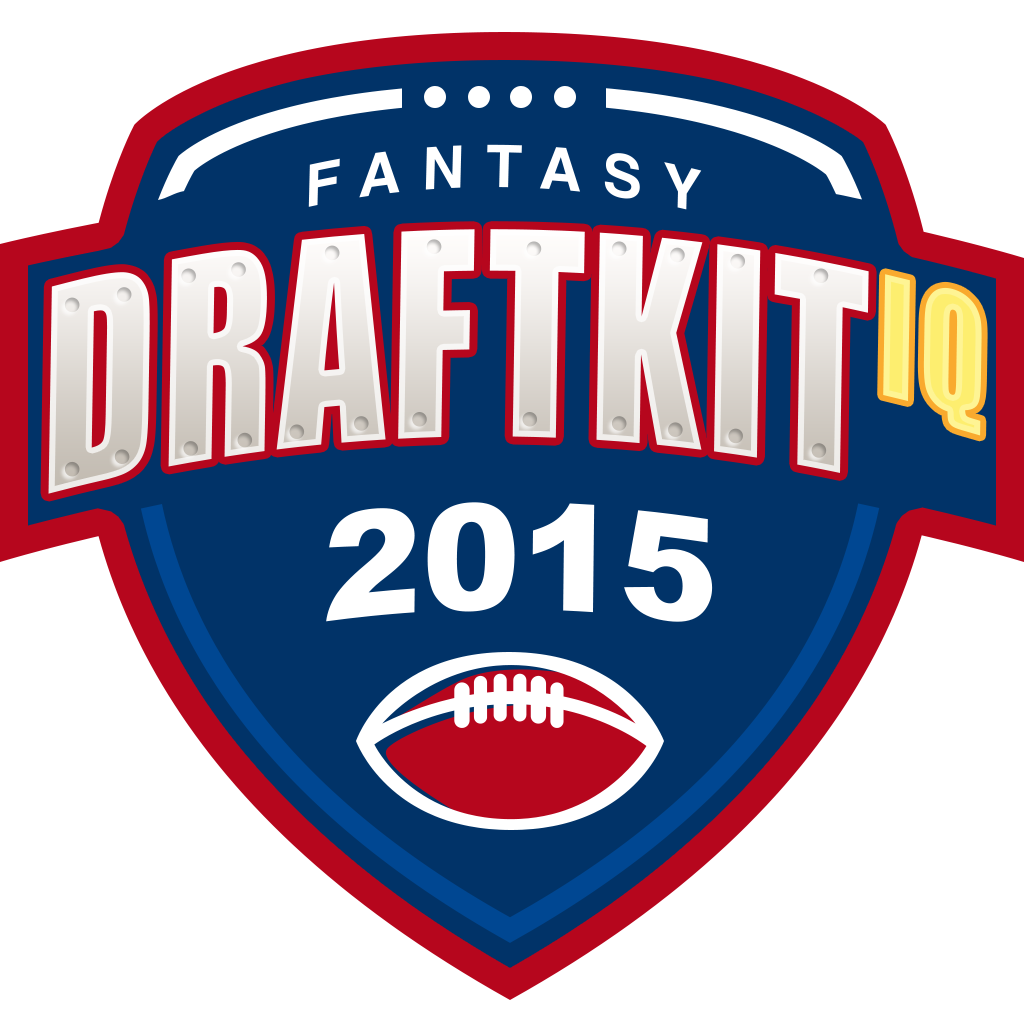Draft Kit iQ - 2015 Fantasy Football Cheat Sheet and Assistant