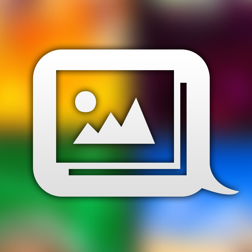 Album Share - send photo albums in a text message Icon