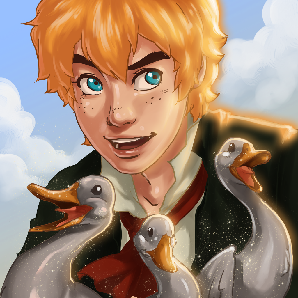 Ashlad and the Trolls Silver Ducks