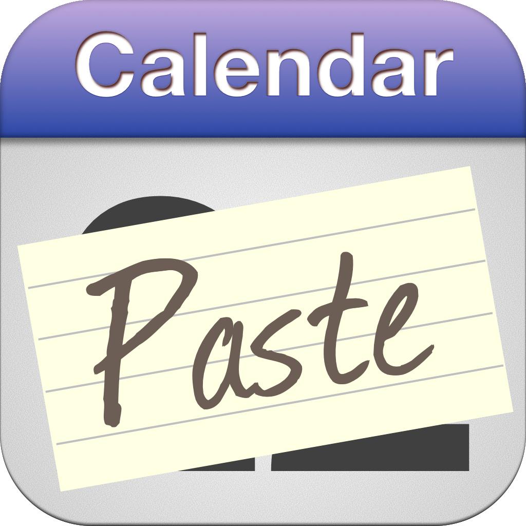 Calendar Paste