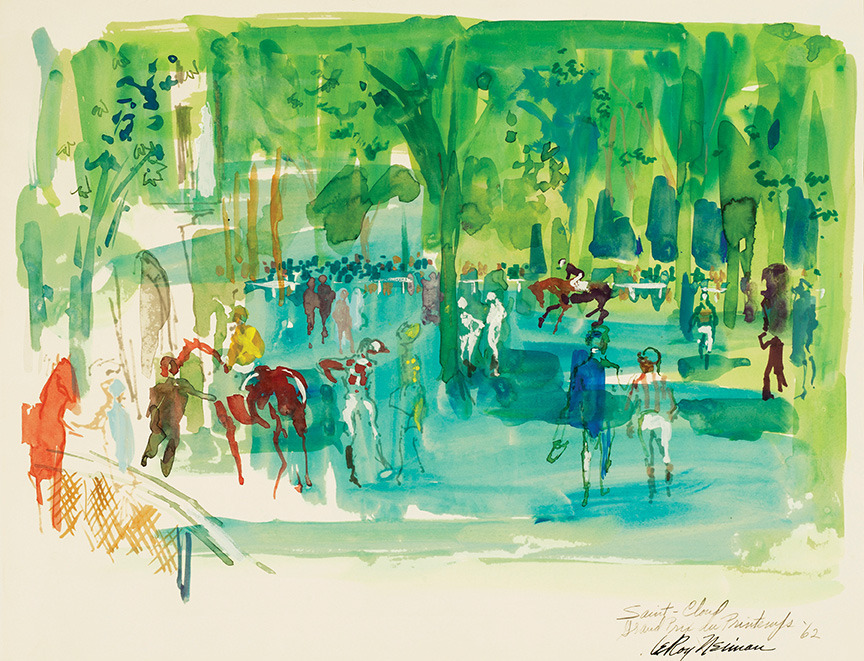 SAINT-CLOUD by LeRoy Neiman