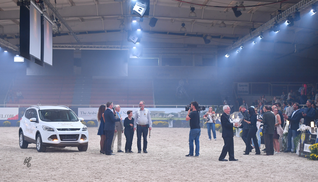 A Ford Kuga, donated by Ajman Stud and the ANC, was used in a lottery to raise funds for a charity foundation dedicated to helping children who suffer with cancer