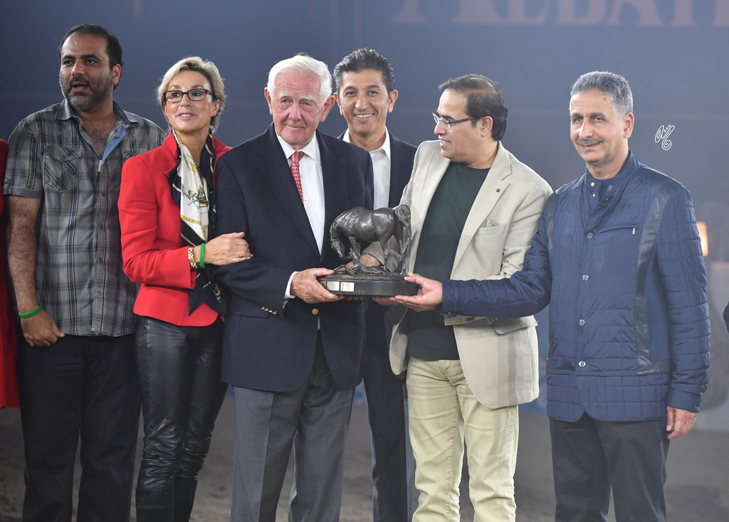 The United Arab Emirates was the recipient of the ANC Breeders Trophy