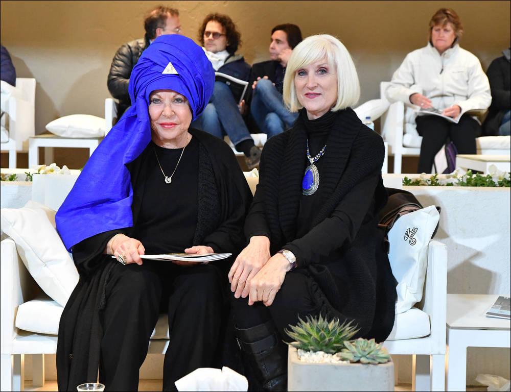 Judith Forbis and Cynthia Culbertson
