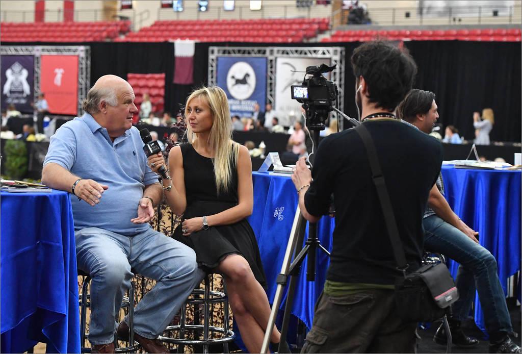 Media! Francesca Aragno (ITA) of Arabian Insider interviewing Murilo Kammer (BRA)