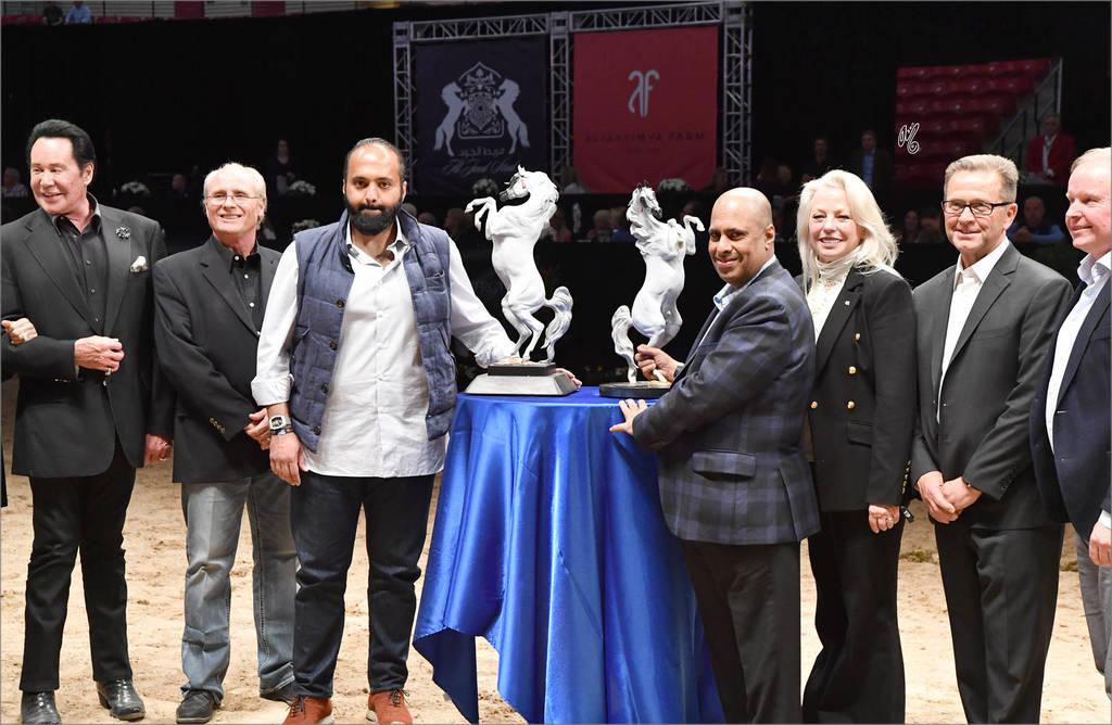 The AHBA Lifetime Achievement Award: Sheikh Hamad bin Ali Al Thani accepted for HH Sheihk Hamad bin Khalifa Al Thani
