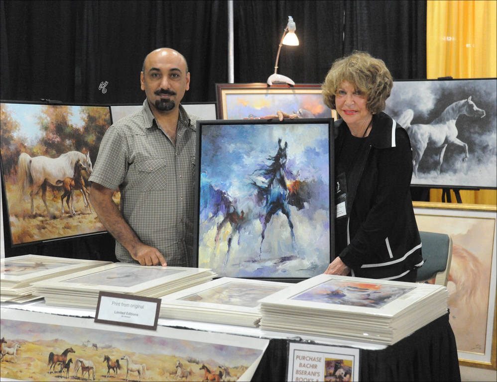 Ali Almimar with Judith Forbis at the US Egyptian Event (2012)