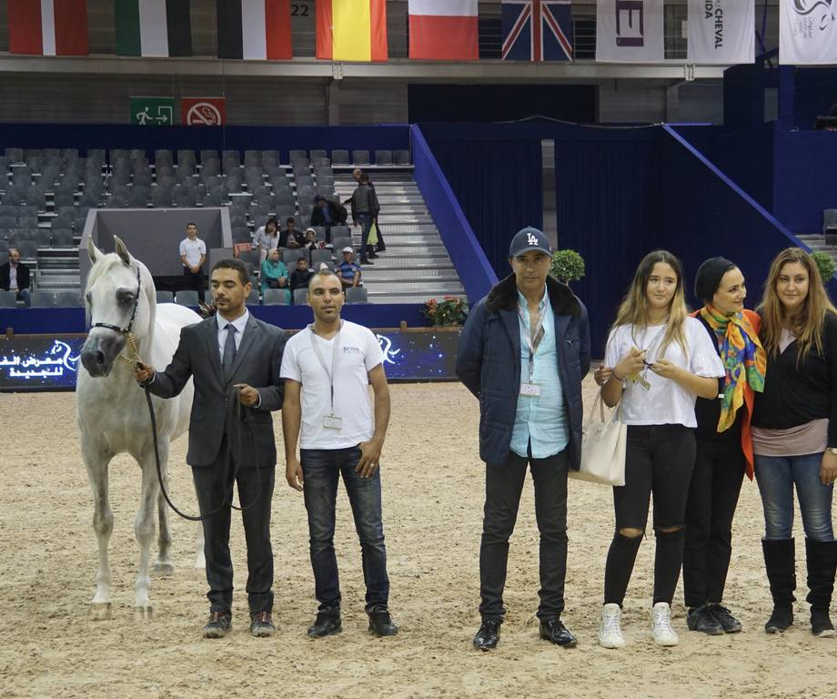 Silver Champion horse in Morocco was Slatan De Lafon by Shanghai EA and out of Vassilia owned by Mr. Aboukhadija Abdelmajid