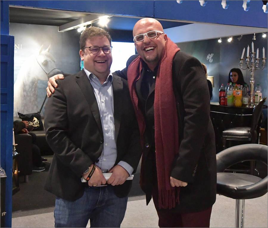 Dr. Nils Ismer and Farhang Fazeli