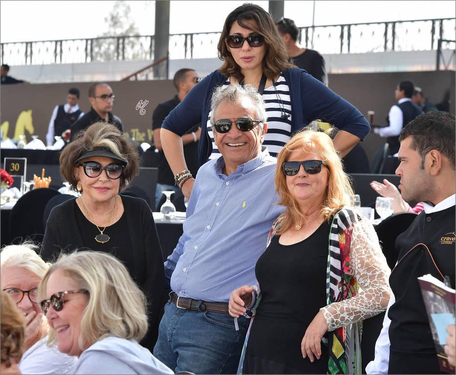 Judith Forbis, Omar Sakr and Rebecca Rogers