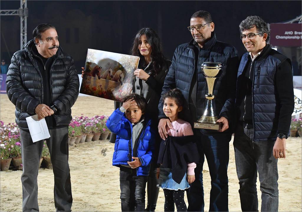 El Gabry Stud earned the 2018 AHO Breeders'Championship Best Breeder Award