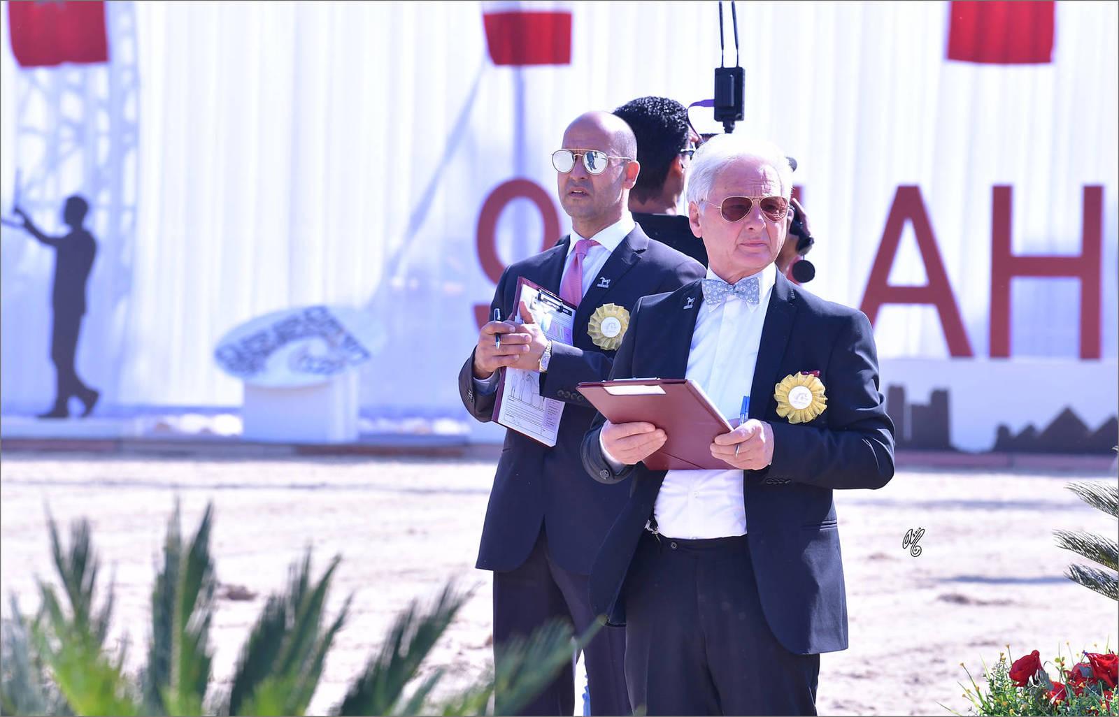 Judges Sufian Taha and Fausto Scanzi