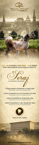 D SERAJ - All Nations Cup 2018 with Paolo Capecci