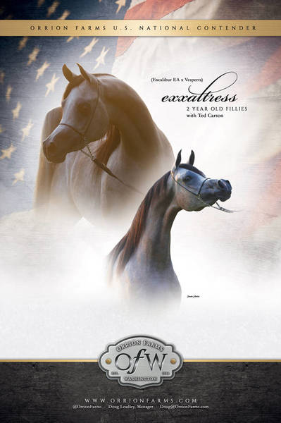 Orrion Farms & Exxaltress are off to US Nationals