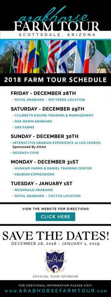ArabHorse: Farm Tour Schedule