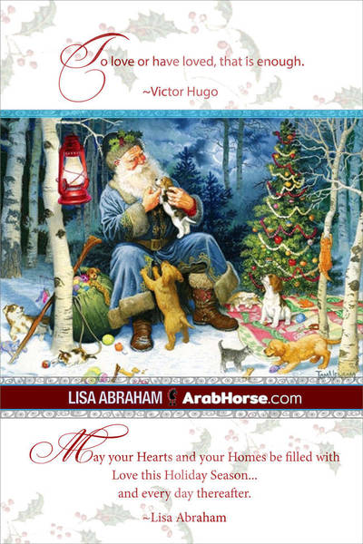 Lisa Abraham wishes a Merry Christmas...!