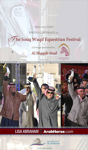 Please enjoy Lisa's PHOTO COVERAGE of the Souq Waqif Show in Doha!