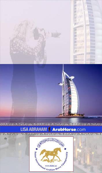 Lisa Abraham in Dubai!