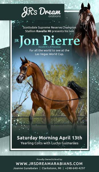 Appearing in Vegas, the incredible JR Jon Pierre!