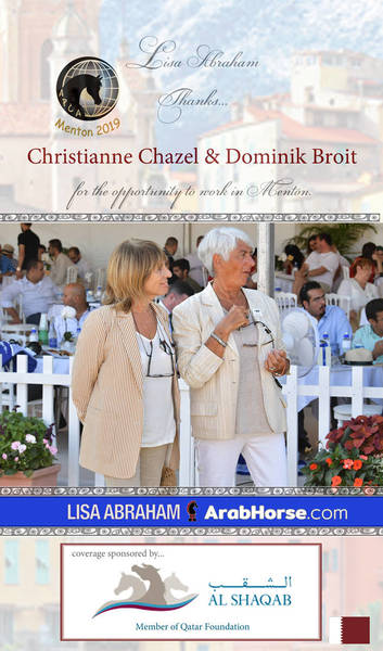 Lisa THANKS Christianne Chazel and Dominik Briot!